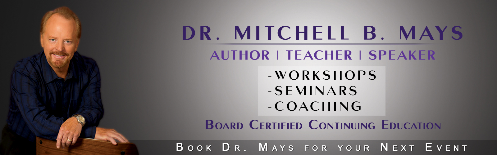 The Anxiety Coach │ Dr. Mitchell Mays