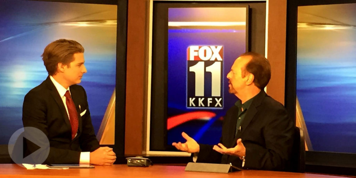 Dr. Mays on KKFX FOX 11 with Danny Max