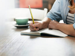 writing your goals
